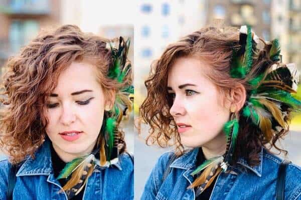 Feathered Hairstyle 4
