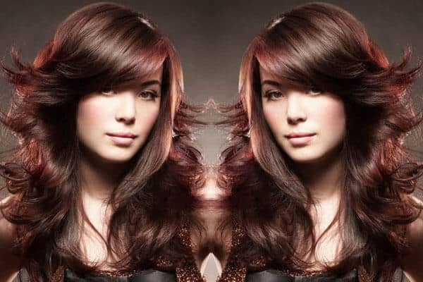 Feather Bangs Hairstyle