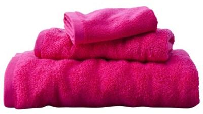Fiery Pink Towel Set
