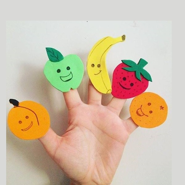 Finger Puppet Craft Design Ideas For Kids And Preschoolers