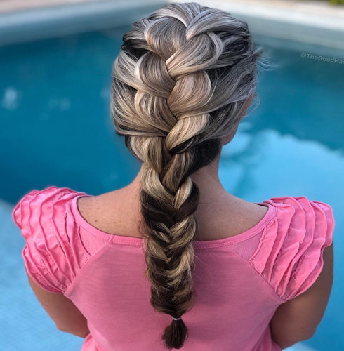The Fishtail Braid for Party Looks