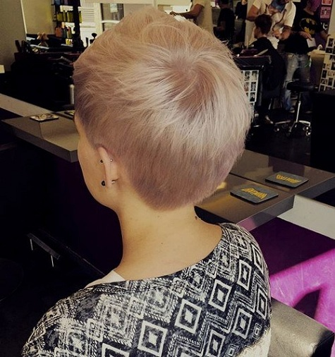 Flaxen Blonde U Cut