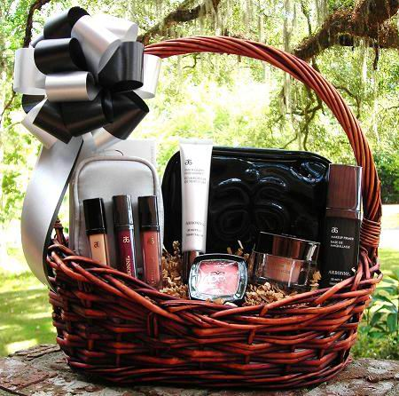 Makeup Basket Birthday Gift