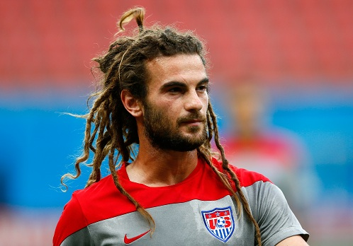 Flowing Dreadlocks Soccer Hairstyle