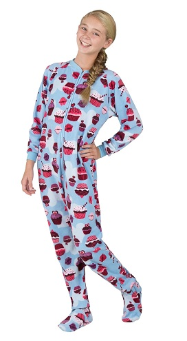Footed Pajama for Girls