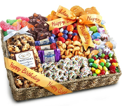 Fruit Chocolate Hamper Birthday Gifts
