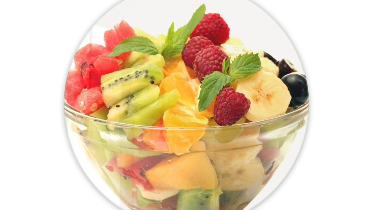 Salad fruit diet weight loss