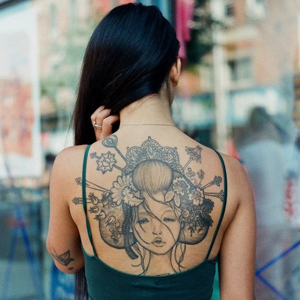 Geisha Tattoo Designs