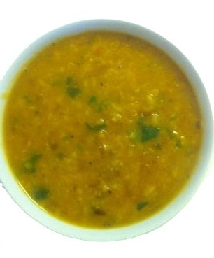 Yoga Diet Golden Moong Dal Soups with Greens