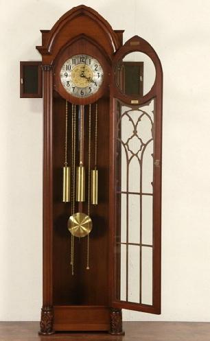 Gothic Style Grandfather Clocks