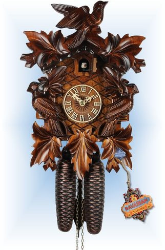 Hand Carved Traditional Cuckoo Clocks