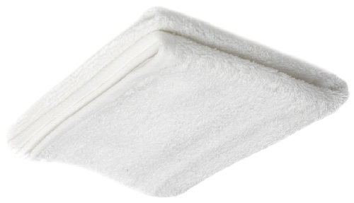 Hand White Towels