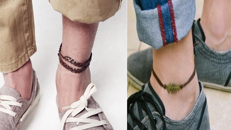 Mens Anklets Designs
