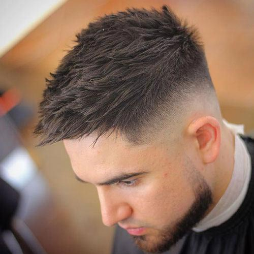 High Skin Fade Short Fohawk