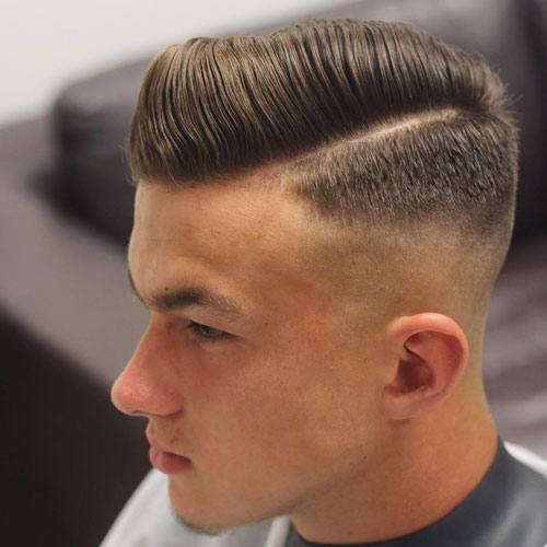 9 Amazing Hard Part Hairstyles For Men In 2020 with Images