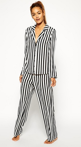High-Quality Soft Striped Pajamas for Women