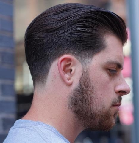 Hollywood Comb-over Style