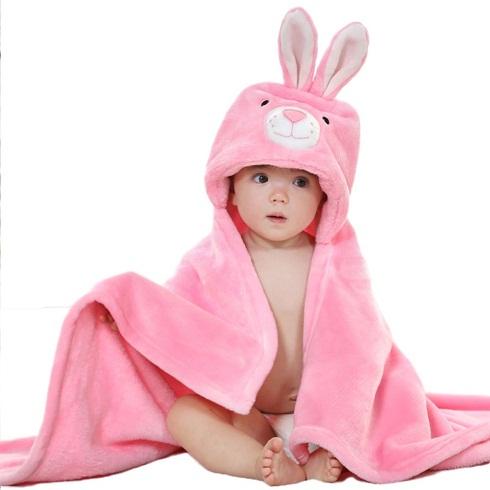 Hooded cute Baby Towel