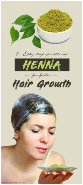 Henna For faster Hair Growth