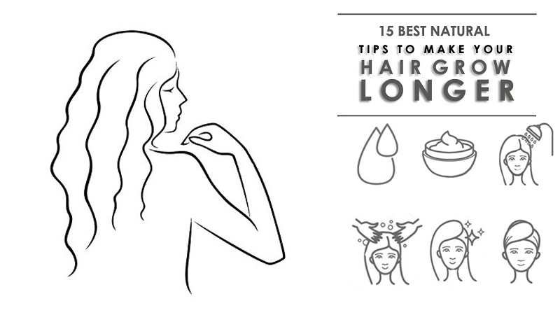 To Get Long Hair Naturally