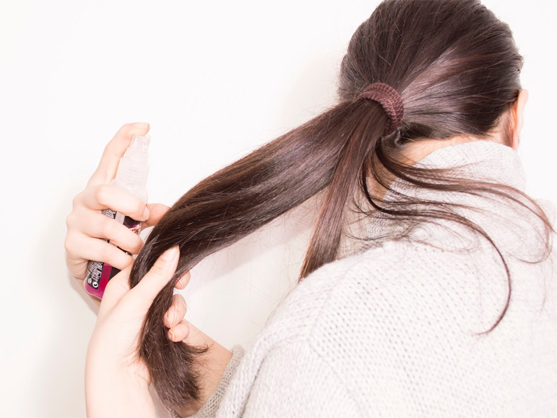 how to use hair serum