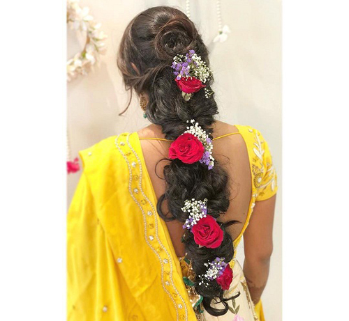 Indian Hairstyles 16