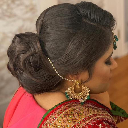 Indian Juda Hairstyle 18