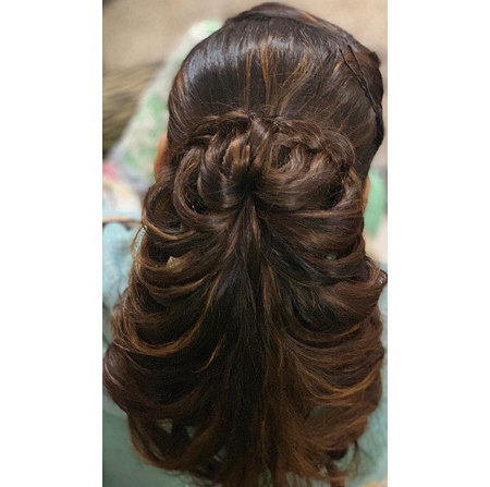 Indian Juda Hairstyle 19