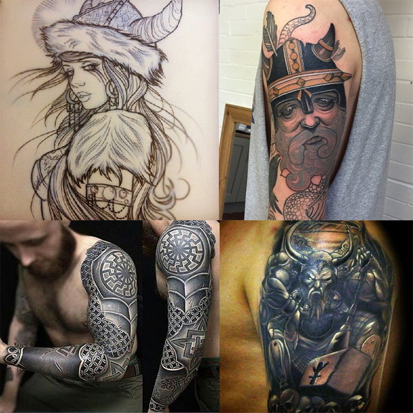 9 Beautiful Inspirational Viking Tattoos Styles At Life