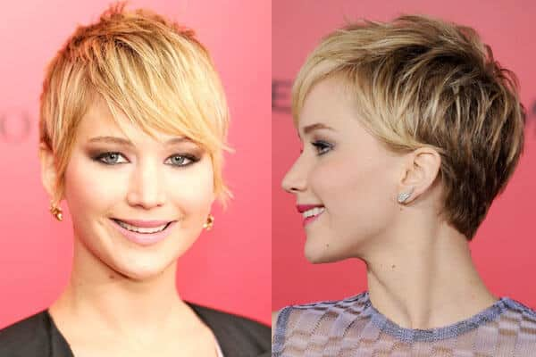 Undercut Feathered Hairstyle