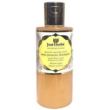 Just Herbs Dandruff Control Ayurvedic Soya Protein Shampoo