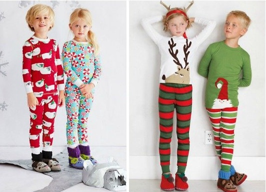 Kid's Holiday Pajamas
