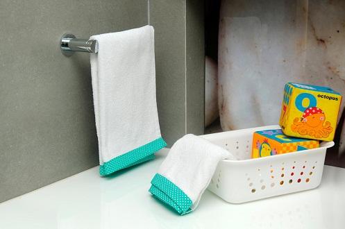 Kids White Towels