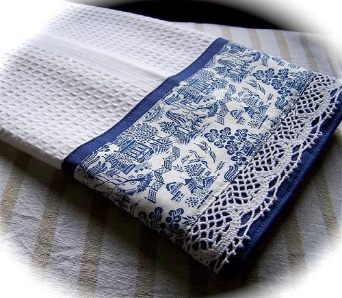 Kitchen White Towels