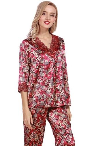 Lace Pajama Set