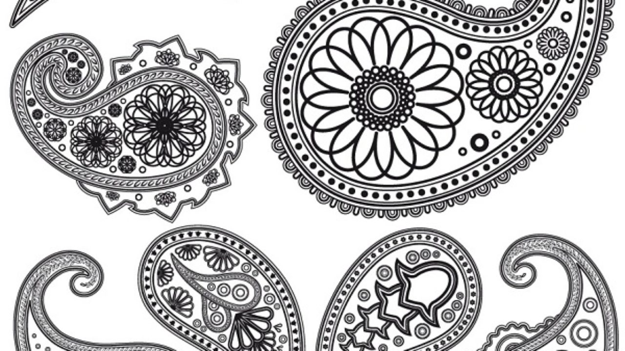 photo regarding Printable Henna Stencils known as Final 10 most up-to-date Mehndi Stencils Options Models At Everyday living
