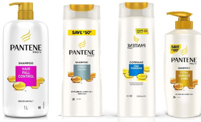 Latest Pantene Shampoo Types Available in India