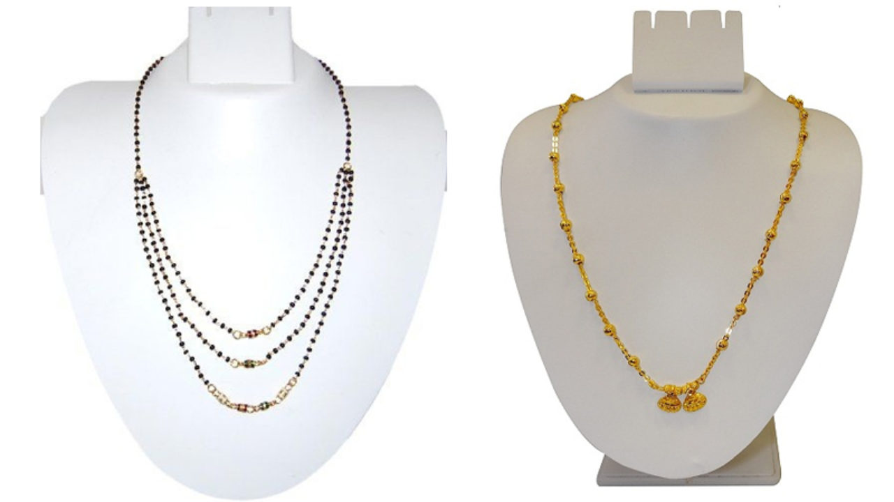 15 Modern Short Mangalsutra Designs For A Sleek And Stylish Look