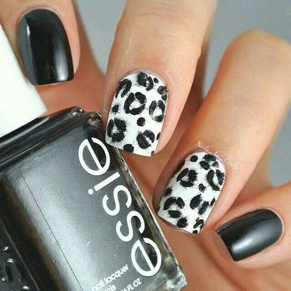 Leopard Print Nail Art Designs With Images