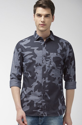 Levis Camouflage Printed Shirt