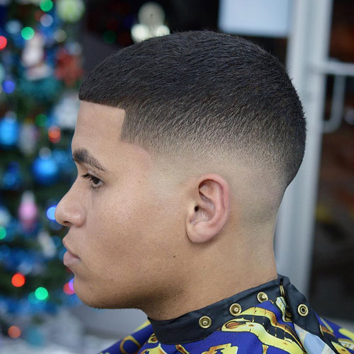 Low Skin Fade Mexican Haircuts