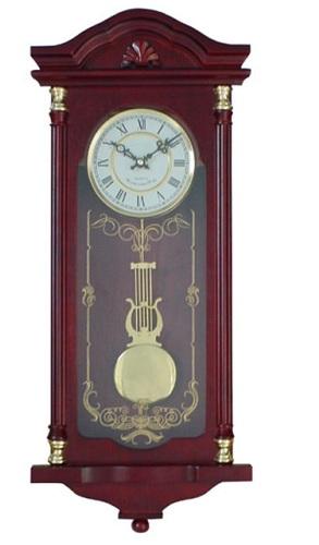 Mahogany Cherry Wood Hanging Grandfather Clocks