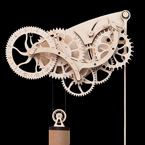 15 Simple Amp Modern Mechanical Clock Designs With Images