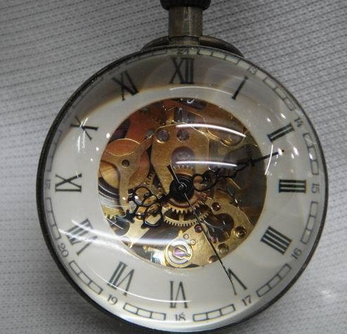 Mechanical Pocket Clock