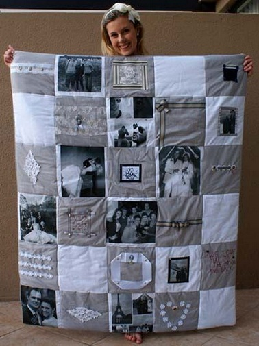 Memorable Photo Quilt Surprise Birthday Gifts