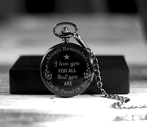 Metallic Pocket Watch This Is One Of The Best Birthday Gift Ideas For Boyfriend