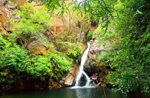 Nagalapuram Waterfalls