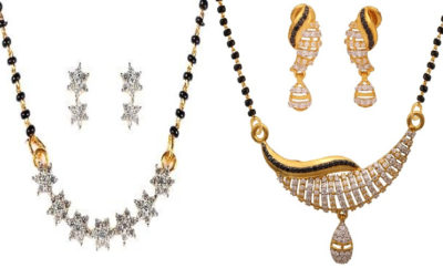 New Models of American Diamond Mangalsutra For Indian Women