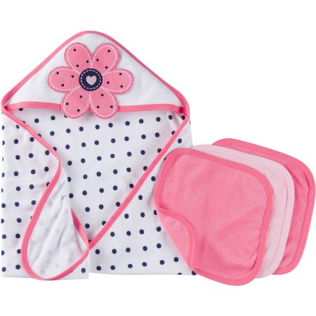 Newborn Baby Pink Towel