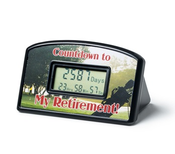Office use Retirement Countdown Clock